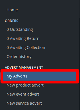 My Adverts